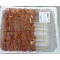 Pinchos de pollo frescos bandeja 18 uds